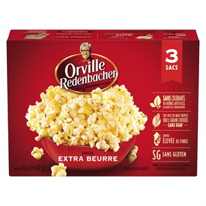 Orville Extra Beurre 3x82 GR