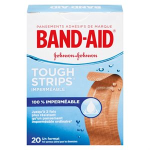 Band Aid Toughstrips 20UN