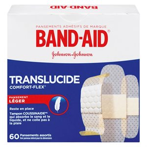 Band Aid en Plastique 60UN
